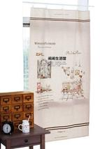 [Ann's Day] 55'' Wide Handmade Curtain/Bag/Tablecloth Linen Fabric (3055 Inch)