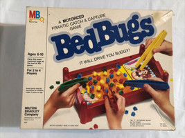 Vintage Bed Bugs Motorized Game by Milton Bradley - 1985 Complete. - $12.59