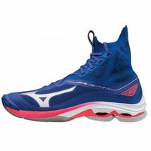 Mizuno Lightning NEO Indoor Shoes Badminton Handball Unisex Blue NWT V1G... - $195.90