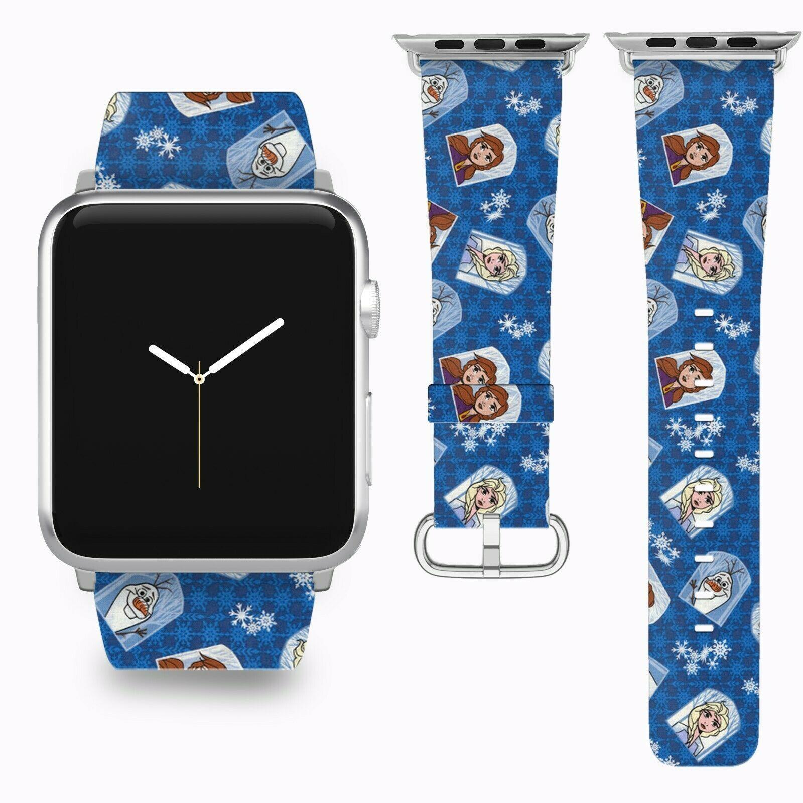 Frozen II 2 Apple Watch Band 38 40 42 44 mm Disney 5 1 2 3 4 Wrist Strap 2 - $24.99 - $27.99