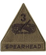 United States Army Spearhead 3rd Armored Division Patch - $5.29