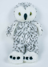 "BUILD A BEAR SNOWY SPOTTED TURNER OWL HEAD TURNS 360° 15"" PLUSH STUFFED ... - $21.77"