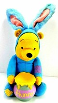 Winnie The Pooh Funny Hunny Pooh Bunny, Talking Plush Applause Disney Ea... - $21.77