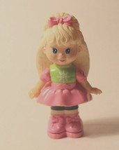 McDonald's 1993 Doll Totally Toy Holiday Sally Secrets Feet Paper Punches Hearts - $5.89