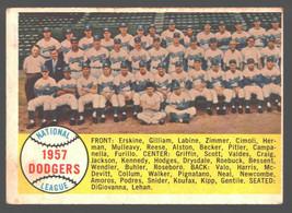 1958 Topps #71 Dodgers Team Vg-Ex  - $9.75