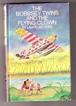 THE BOBBSEY TWINS AND THE FLYING CLOWN  Ex++ 1ST ED   #2 - $17.83