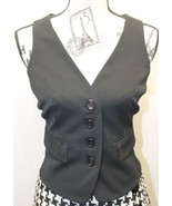 INC Sexy International Concept Ladies Black 6 Buttons Adjustable Corset ... - $32.71