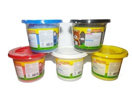 Donerland Honey Clay 5-Color Set 0.4lbs 200g (Red, Blue, Yellow, White, Black) image 2