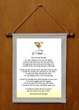 If I Had - Personalized Wall Hanging (171-2) - $19.99