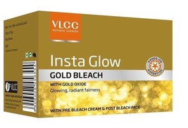VLCC Insta Glow Fairness Gold Bleach Cream For Removing Tan Facial Hair ... - $28.26