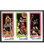 MAGIC JOHNSON Rookie Card RP #139 Dr J #174 Kolff #162 RC 1980 T Free Sh... - $2.95