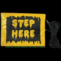 STEP HERE PAD SWITCH ACCESSORY Activates Animated Animatronic Props w- M... - $12.84