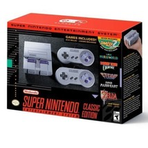 2017 SNES Classic Console Hacked Modded 150 added Games! - $153.45
