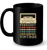 Vintage Retro Made In February 1976 42nd Birthday Gifts 42 Gift Coffee Mug - $13.99+