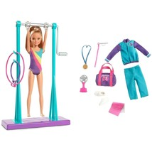 Barbie Team Stacie Gymnastics Class Exclusive Playset MATTEL Licensed NI... - $24.99
