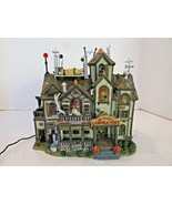 LEMAX SPOOKY TOWN DR TINGLE'S LABORATORY ANIMATED SOUNDS EERIE WORKS  LotD - $48.02