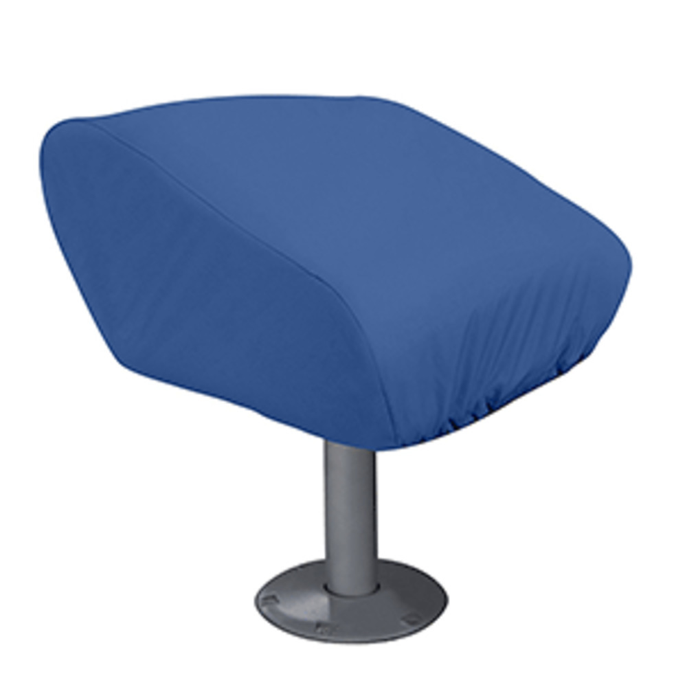 Primary image for Taylor Made Folding Pedestal Boat Seat Cover - Rip/Stop Polyester Navy