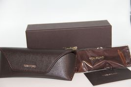 NEW TOM FORD TF 5237 098 BROWN EYEGLASSES AUTHENTIC RX TF5237 52-16 W/CASE image 4