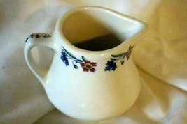 Homer Laughlin Red And Blue Mini Creamer - $3.14
