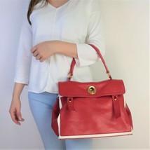 YSL Red Leather Muse 2 Handbag - $599.00