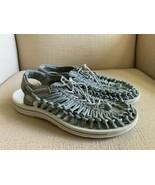 KEEN Uneek Gray Woven Slingback Sport Sandals Womens US 11 EUR 42 - $37.08