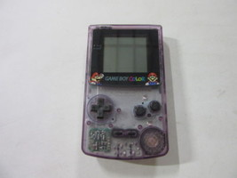 GameBoy Color Atomic Purple Handheld System JUSCO - NEW MARIO SCREEN CO... - $39.91