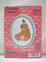 Janlynn Cherished Teddies Birthday Bear Cross Stitch Kit #139-74 - NEW w... - $6.60