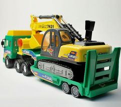Daesung Toys Melody Shovel Trailer Truck Forklift Car Vehicle Construction Toy image 5