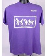 Vtg APACHE DANCERS T Shirt-L-Purple-Hueco Tanks Rock Art-Graphic-Single ... - $32.71