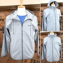 Columbia XM9707 Men's Pine Orchard Grey Water Wind Resistant hooded Jack... - $59.99