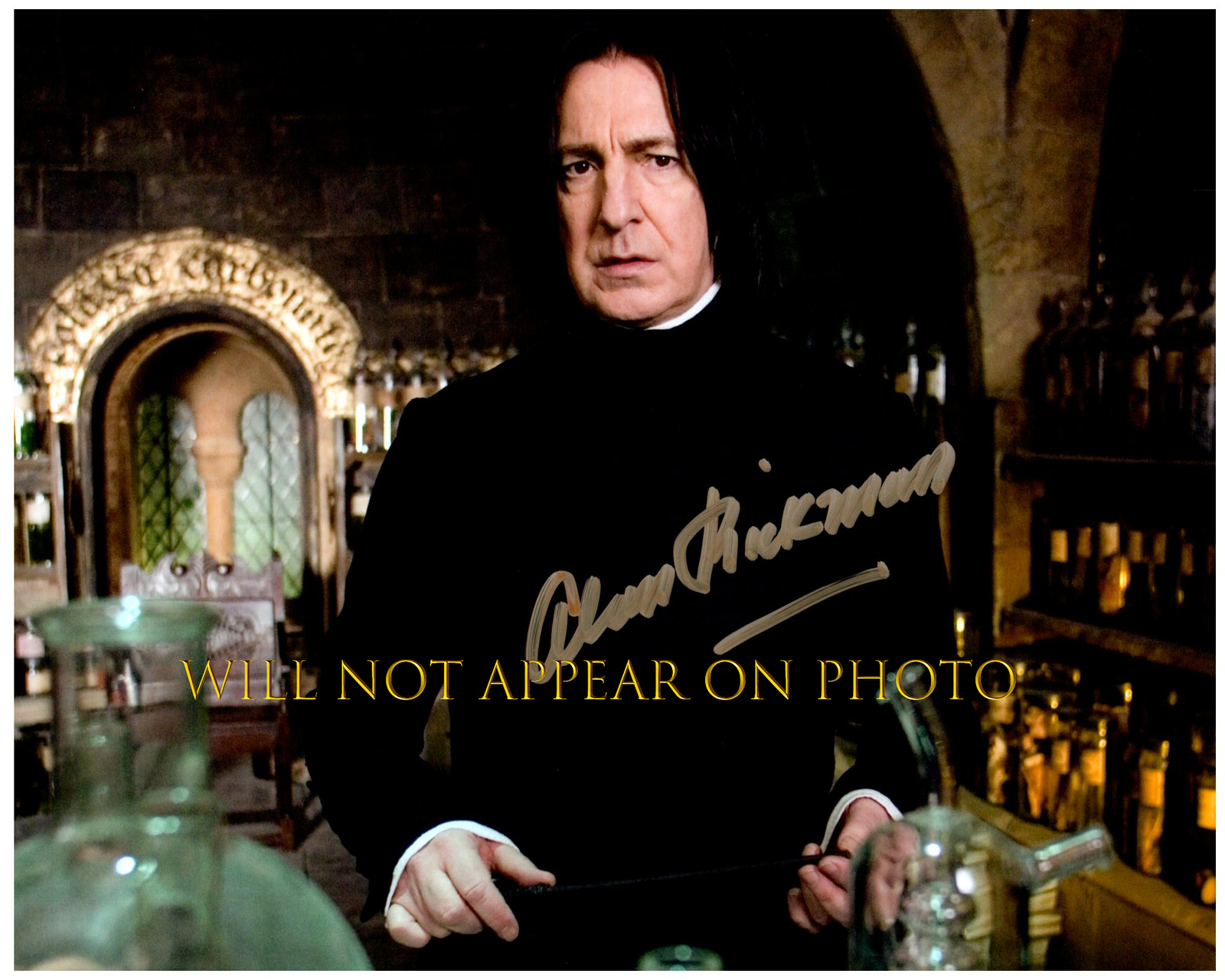 Primary image for ALAN RICKMAN Signed Autographed 8X10 Photo w/ Certificate of Authenticity