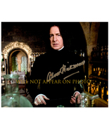 ALAN RICKMAN Signed Autographed 8X10 Photo w/ Certificate of Authenticity  - $55.00