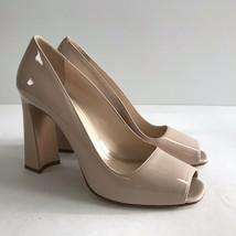 L-3475268 New Prada Calzature Donna Travertino Pump Shoe Size US-7/Marked-37 - $420.49