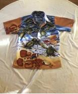 Deep Water Shirt Size Junior 10-12 M Turtles - $5.93