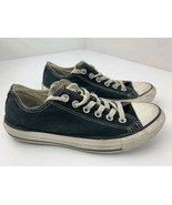 Converse Chuck Taylor All Star Low Mens Shoes Size 5.5 Womens 7.5 Black ... - $19.79