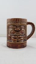 Vintage Orchids of Hawaii Tiki Mug - Low Ball Ku Mug with Handle - Japan... - $39.00
