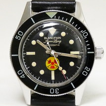 BLANCPAIN Aqua Lung No Radiation Vtg.Watch Cal.AS 1700/01 Re-Cased Fifty... - $5,995.00