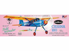 Guillow's Cessna 180 Easy-Build Balsa Wood Model Airplane Kit  GUI-601 - $21.77