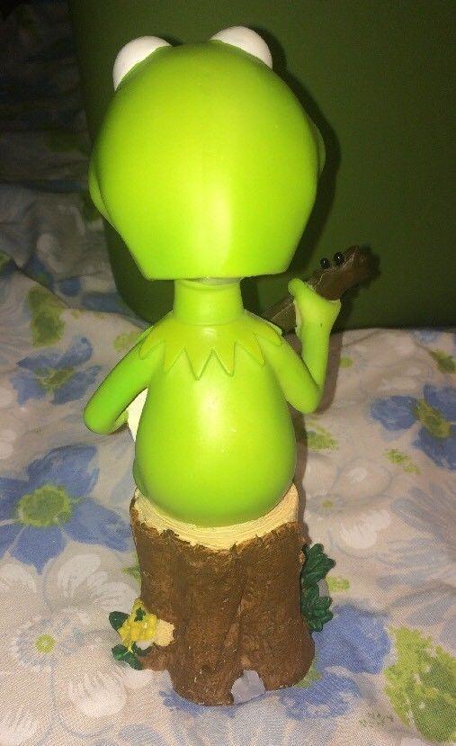 "RARE Rittenhouse Archives 7.5"" Kermit the Frog Bobblehead Bobble Dobbles Figure"