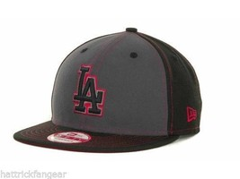 Los Angeles LA Dodgers New Era 9Fifty MLB Baseball Strapin Pop Strapback Cap Hat - $21.80