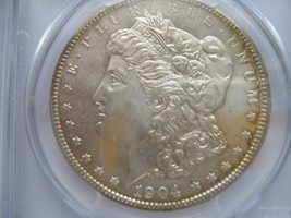 1904-O , Morgan Silver Dollar , PCGS , MS 64 - $100.00
