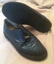 Vintage Doc Martens Dr. Martens Docs Oxford Oxfords Shoes Size 7.5 Blue 1149 - $35.64