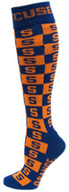 Syracuse University Licensed Checkerboard Dress Socks - $12.95