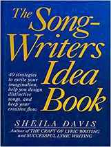 The Songwriters Idea Book by Sheila Davis Hardcover Book - $39.99