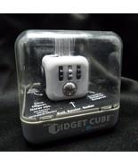 Original Antsy Labs Fidget Cube White Zuru Click Roll Flip - $14.99