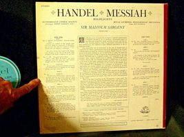 Handel ‎– Messiah Highlights AA-191763 Vintage Collectible image 8