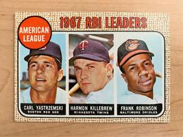 1967 AL RBI Leaders Topps Baseball Card #4 (Original) - $19.31