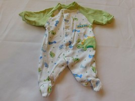 "Child of Mine Carter's Girl's Boy's Size P Preemie ""Little Dino"" Footed Bodysuit - $19.79"