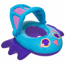 "Swim Ways 34"" Inflatable Sun Canopy Baby Boat Bird Float 9-24 months Step 1 NIB"