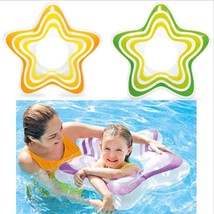 Kids Inflatable Swim Training Ring Swimming Float Beach Water Pool Acces... - $15.58